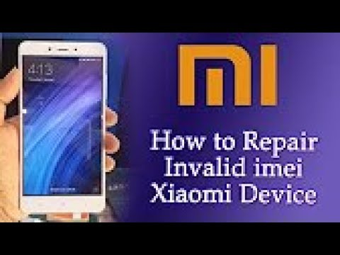 REDMI 4X NEW IMEI REPAIR 1000000% DONE JUST ONE CLICK
