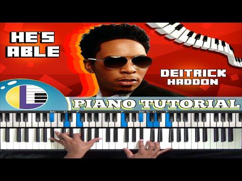 🎵 HE'S ABLE Piano Tutorial: He's Able DARWIN HOBBS and DEITRICK HADDON (gospel piano tutorials)