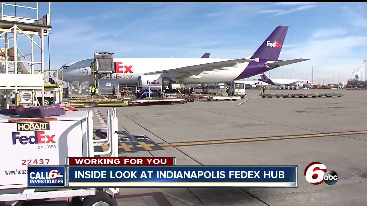 Indianapolis has the second-largest FedEx hub in the U S  Take a look  inside