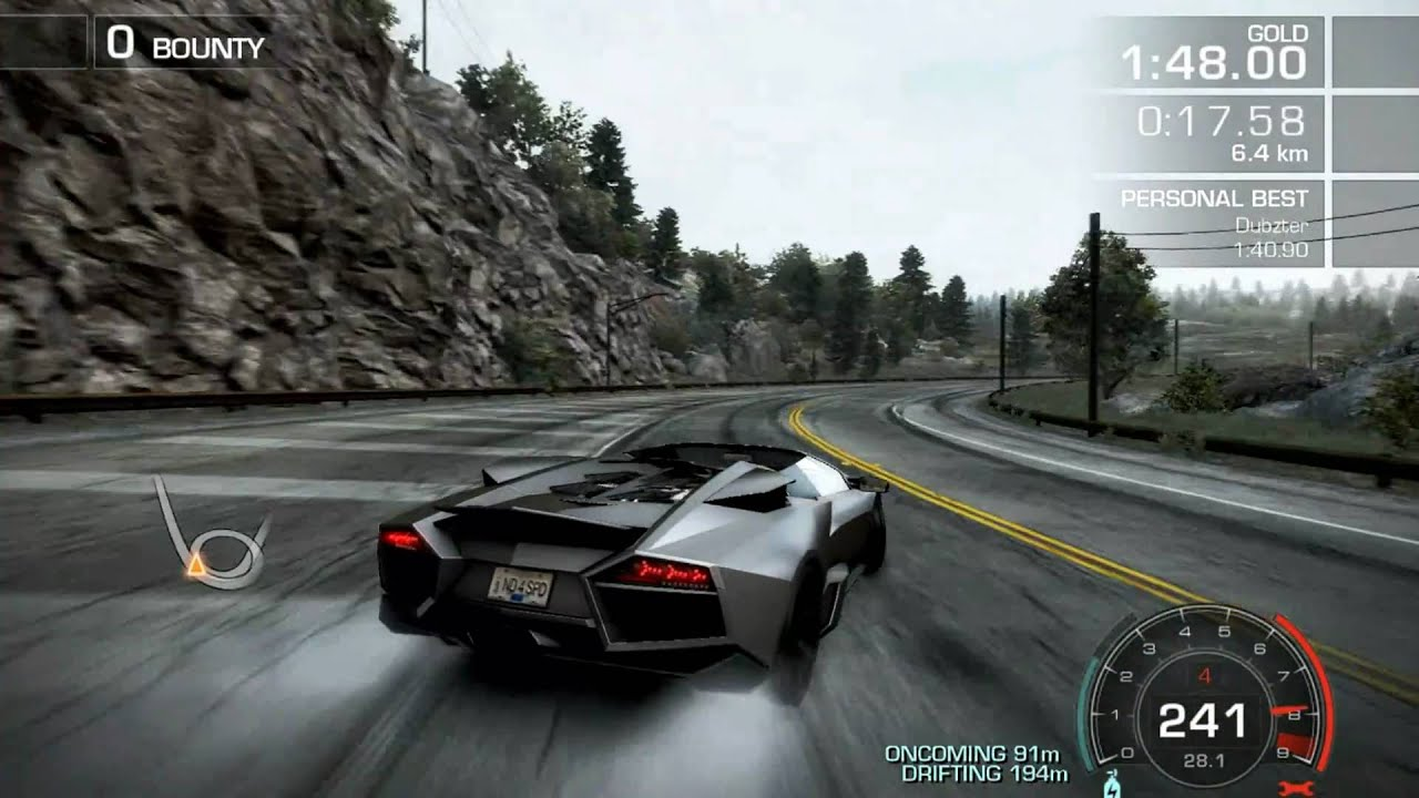 need for speed hot pursuit lamborghini revent n roadster youtube. Black Bedroom Furniture Sets. Home Design Ideas