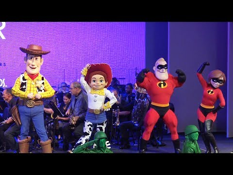Character Finale at The Music Of Pixar Live - A Symphony Of Characters - Disney's Hollywood Studios