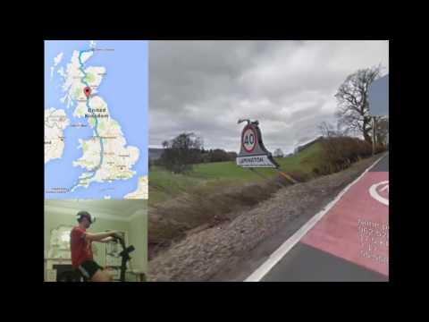 Cycling Britain in VR. 15/09/2016