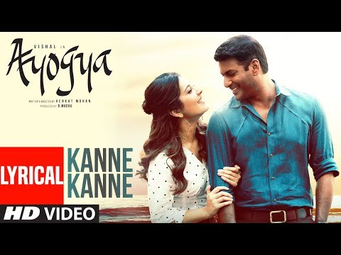 Kanne Kanne Lyrical Video Song | Ayogya | Sam C.S. | Anirudh Ravichander | Vishal, Raashi Khanna,