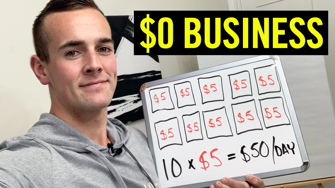 5 Business Ideas To Start With NO MONEY In 2020