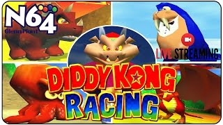 Diddy Kong Racing  - Adventure Mode Part 1 - Ultra HDMI Mod