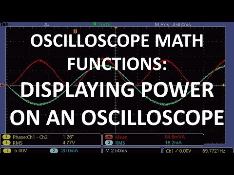 Power Measurement Oscilloscope Style | Hackaday