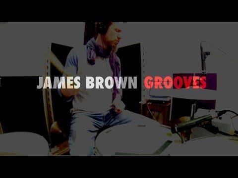 DRUM LESSON - James Brown Grooves - J.J. Flueck