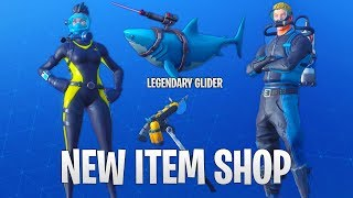 *NEW* SHARK LAZER GLIDER AND REEF RANGER & WRECK RAIDER SKIN! Fortnite Battle Royale