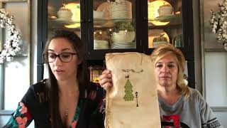 Flosstube #8: Priscilla & Chelsea- The Real Housewives of Cross Stitch