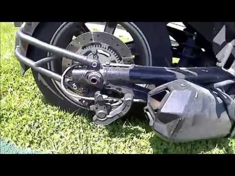 rear brake pad replacement