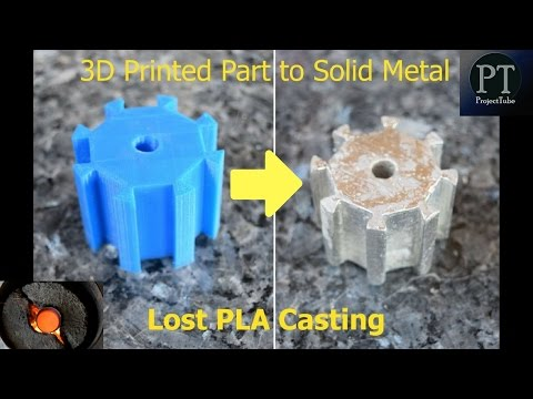 3D Printing to Metal Casting/Lost PLA