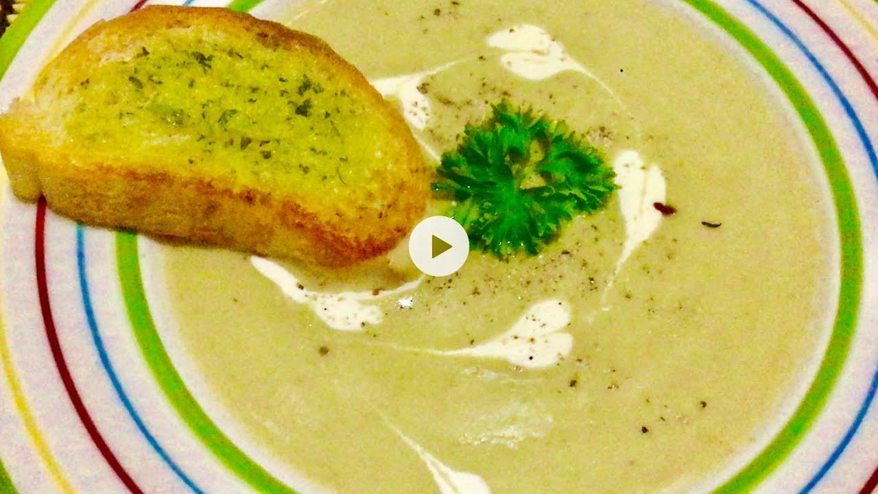 Healthy Broccoli Soup ซุปบล็อคโคลี่ดีต่อสุขภาพ