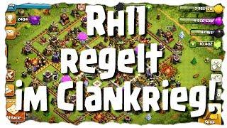 RATHAUS 11 VERTEIDIGUNGEN - RETTEN DEN CLANKRIEG? | Let´s Play COC | [German Deutsch]