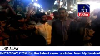 Hyderabad Celebrates MIM victory in Aurangabad election   Aurangabad Municipal Election Result 2015