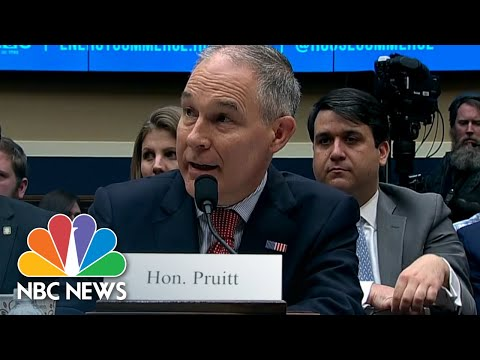 EPA Administrator Scott Pruitt On Phone Booth Spending: 'I Would Have Refused It' | NBC News
