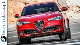 Alfa Romeo Stelvio Quadrifoglio - 510 HP 2.9 V6 Bi-Turbo Petrol Engine