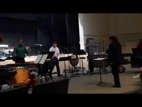 Freedom High School (Orlando) Percussion Ensemble Sacrificial Rite (05/18/13)