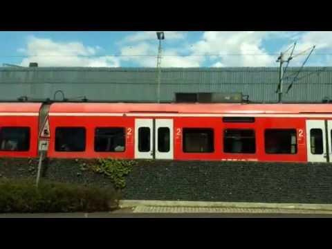 Deutsche Bahn DBAG Class 423 Passing Konigswinter