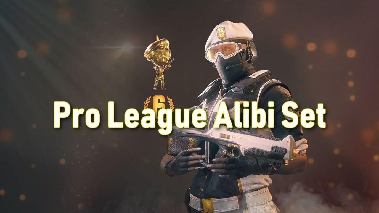 Pro League Alibi Set - R6SKIN