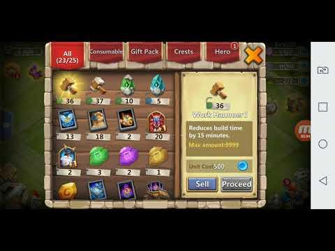 Castle Clash Pirate Booty 5400 Gems
