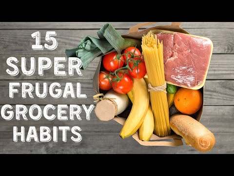 15 Frugal Grocery Shopping Hacks & Habits ⎟FRUGAL LIVING TIPS ⎟How to Save Money on Groceries
