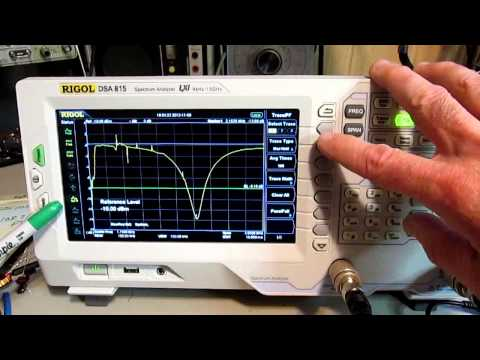 Rigol DSA-815 - Determining cable length with a spectrum analyzer - with a twist