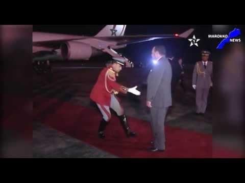 Staatsbesuch  Koenig Mohammed VI nach Westafrika 2013