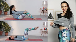 An Easy Ab Workout You Can Do At Home - No Crunches | Fitness with Namrata Purohit