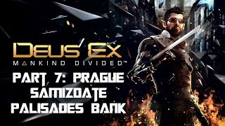 Part 6 of my Deus Ex Mankind Divided Lets Play Walkthrough Peter Chang has Adam Jensen hunting down some hackers digging into Praha Dovoz They are