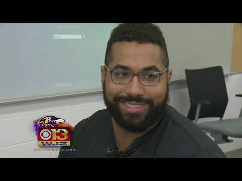 Baltimore Raven, Math Wiz John Urschel Teaches STEM Summer Class