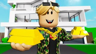 The Kid Billionaire * FULL MOVIE * A Roblox Brookhaven Movie (Brookhaven RP)