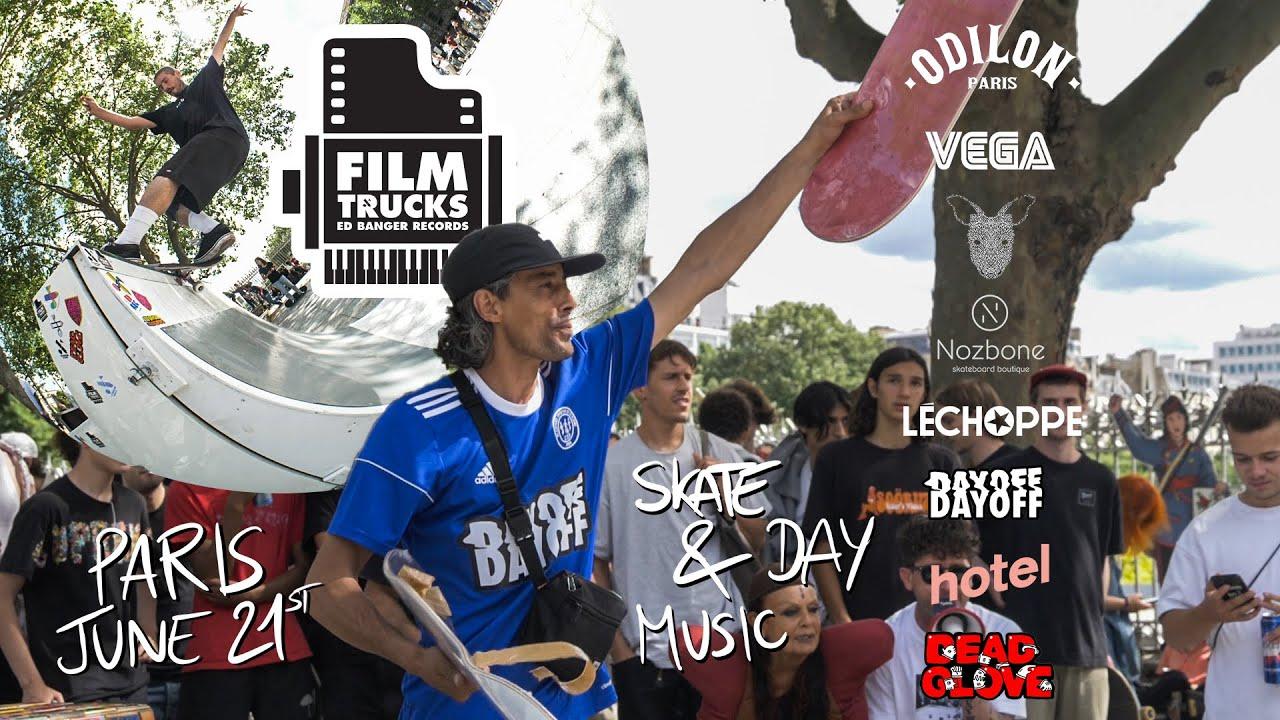 Go Skateboarding Day & Music Day 2021