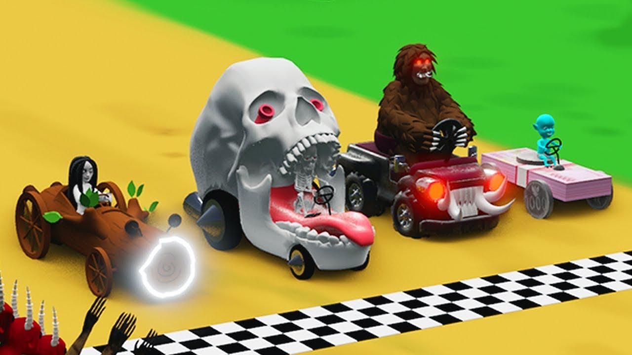Koleksi 40  Gambar Animasi Racing Lucu HD Terbaru
