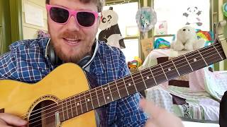 Lil Peep - I've Been Waiting * Fall Out Boy * ILoveMakonnen // easy guitar tutorial beginner lesson Video