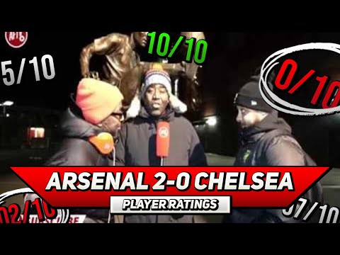 Arsenal 2-0 Chelsea Player Ratings | Kos or Laca, Who Starred The Show? (Ft Troopz & TY)