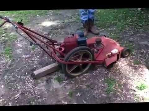 Old Yazoo Mower 26 Quot Youtube