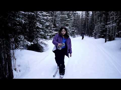 Skiing in Fort Nelson