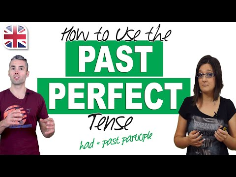 How to Use the Past Perfect Tense in English - English Grammar Lesson