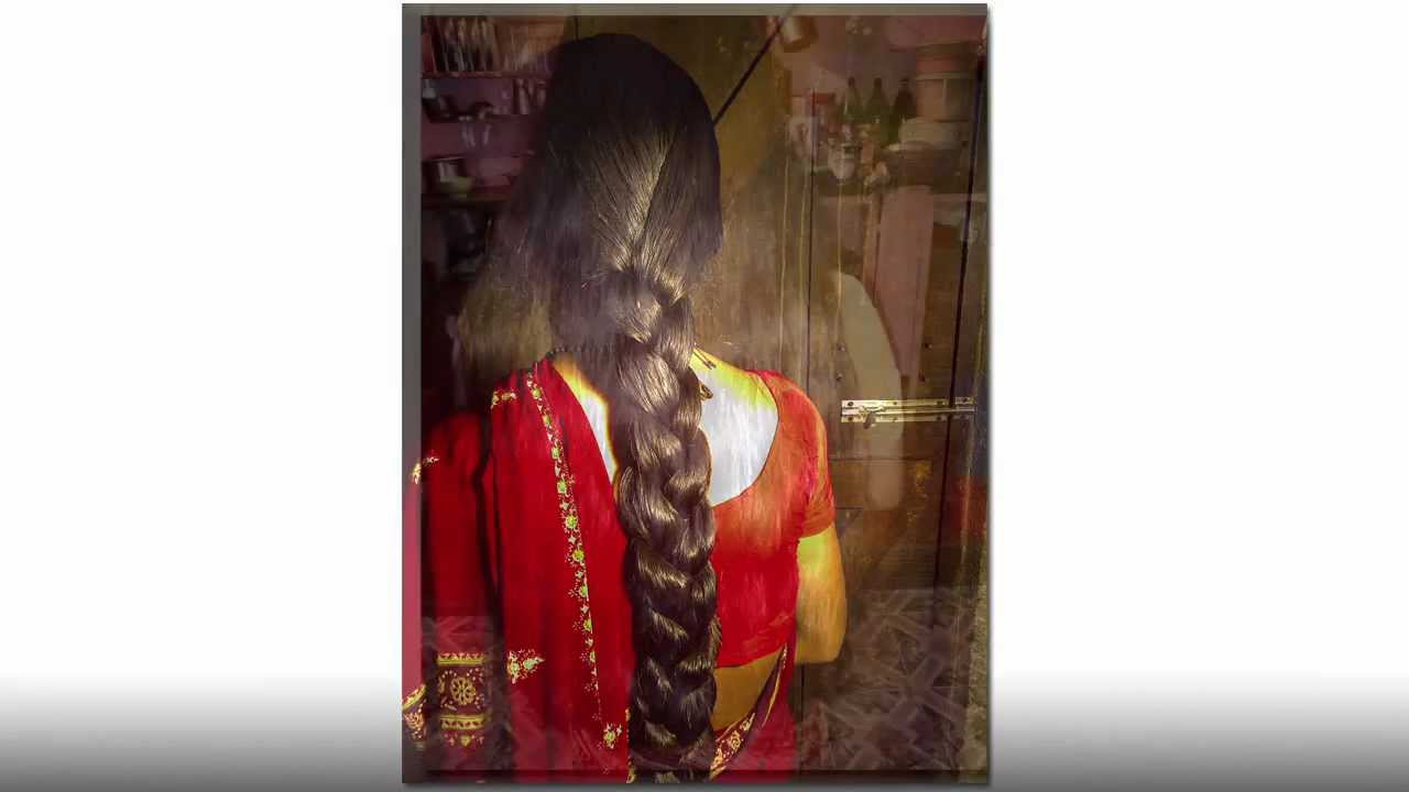 Hair Style Youtube In Hindi: Indian Long Haircut