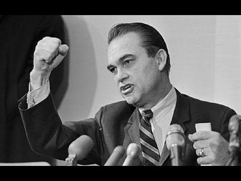 George Wallace speaking at UCLA 1/10/1964