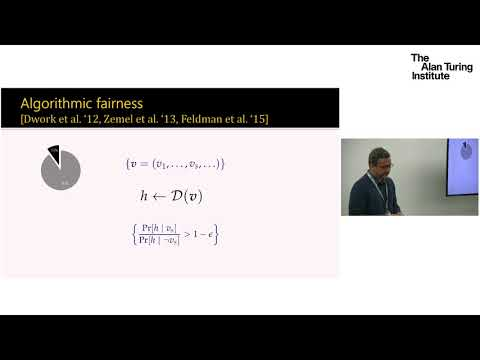 Fairness and robustness in machine learning – a formal methods perspective - Aditya Nori, Microsoft