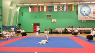 Puchar Europy Dzieci w Karate Tradycyjnym -  Wielka Brytania 2013 r.