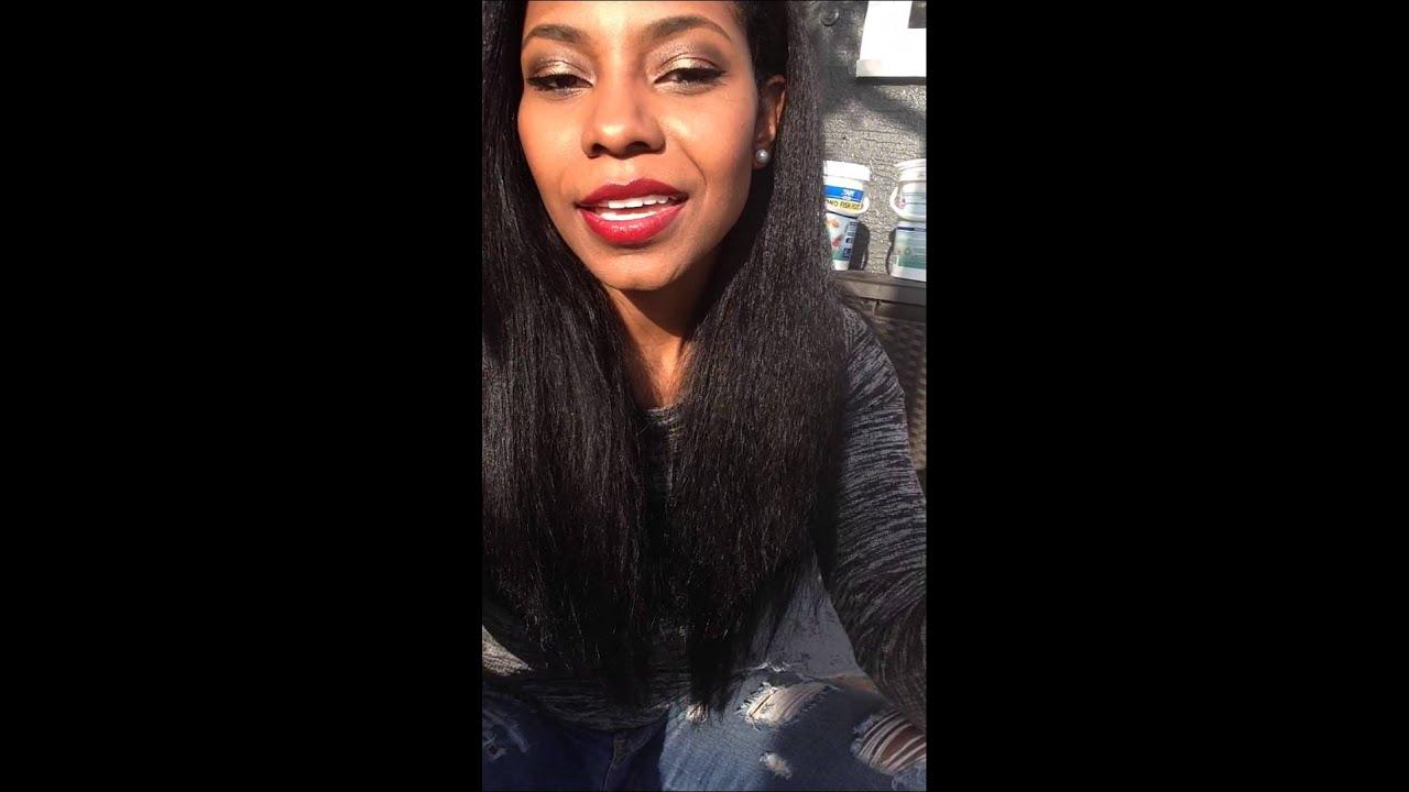 I dyed my hair black using loreal feria jet black. - YouTube