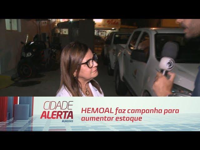 HEMOAL faz campanha para aumentar estoque para o período do carnaval