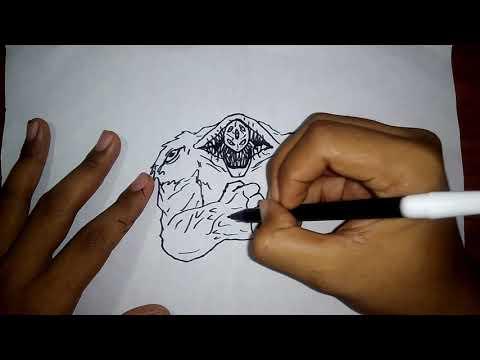 NAME MY CHARACTER | WHAT I DRAW = HULK + KONG + VENOM | DAILY CREATIVITY | ORIGINAL CHARACTER #11