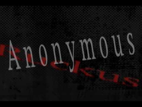 ANONYMOUS - @JoeyRuckus