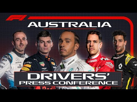 2019 Australian Grand Prix: Pre-Race Press Conference Mp3