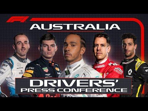 2019 Australian Grand Prix: Pre-Race Press Conference