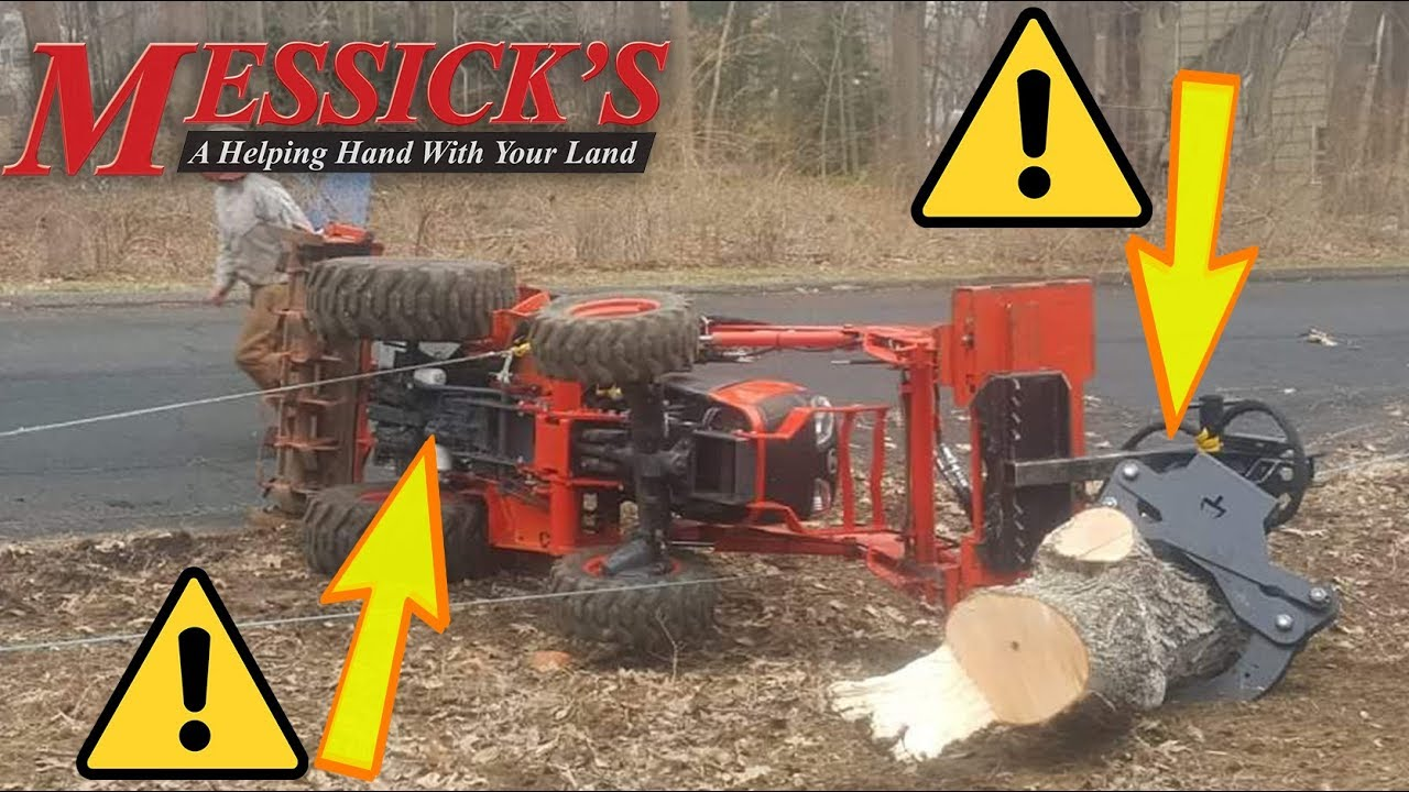 What should you do if you roll your tractor??? - TMT