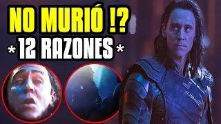 """LOKI ESTÁ VIVO! 12 razones que """"lo prueban"""" en internet, Infinity War"""